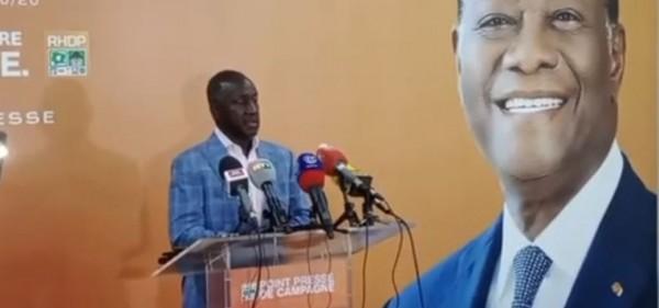 Côte d'Ivoire : Après la journée de vote présidentiel, Adama Bictogo : « Le 31 Octobre n'a pas été  la journée du déluge »