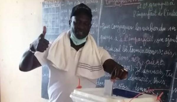 Côte d'Ivoire : Historique, Méambly offre une victoire éclatante pour Ouattara dans le Guemon avec 88,93% et 39,38% de participation