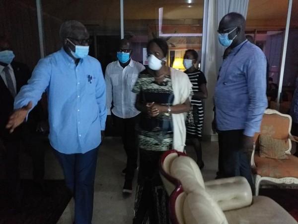 Côte d'Ivoire : Après le décès de leur fils, Simone Gbagbo apporte son soutien à la famille Diallo