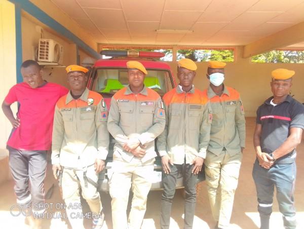 Côte d'Ivoire : Ferké, se disant dans la misère, les pompiers civils grognent