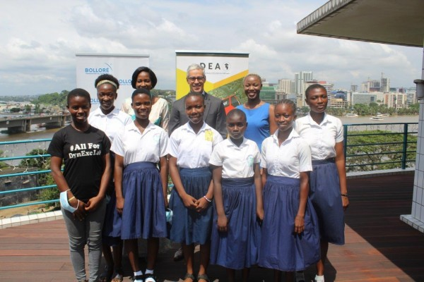 Côte d'Ivoire : Bolloré Transport & Logistics soutient l'inclusion numérique des filles