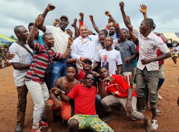 Côte d'Ivoire : Législatives 2021 à Goudouko et Niambezaria, communiqué du vainqueur Samy Me...