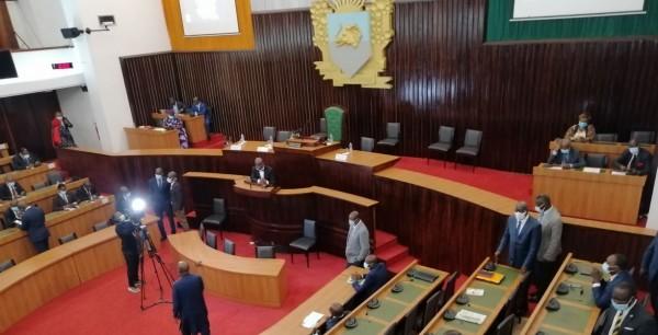 Côte d'Ivoire : Assemblée nationale, à peine présenté, le bureau objet de contestation des groupes parlementaires de l'opposition