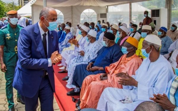 Côte d'Ivoire : Décès du Président du COSIM , Patrick Achi  présente les condoléances du gouvernement à la Communauté musulmane
