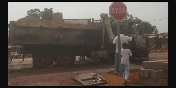 Côte d'Ivoire : Dimbokro, 02 morts suite à une collision entre un camion-benne et un véhicule de transport