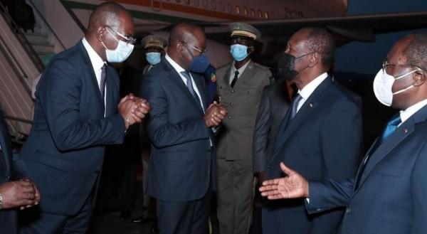 Côte d'Ivoire : Alassane Ouattara atterit à Brazzaville pour Sassou N'Guesso