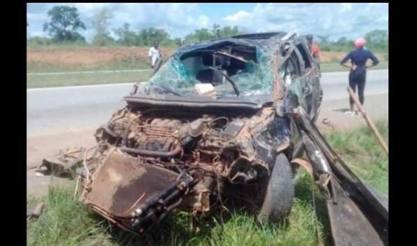 Côte d'Ivoire : En partance pour Korhogo, le véhicule d'un proche de Soro fait une grave sortie de route, un mort