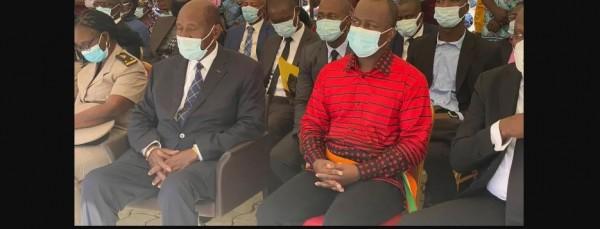 Côte d'Ivoire : A l'ombre de la vie politique depuis sa démission, Daniel Kablan Duncan réapparaît aux côtés du Maire Jean Louis Moulot