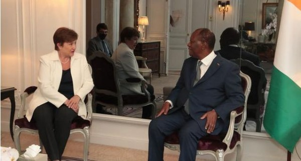 Côte d'Ivoire : A Paris, le FMI annonce prêter près d'un milliard de dollars US supplémentaires pour la relance économique