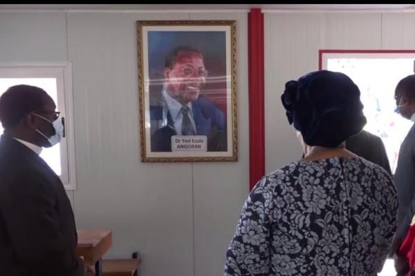 Côte d'Ivoire : Un an après la disparition du Ministre Yed Esaie Angoran, un amphitéatre à s...