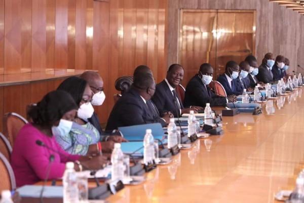 Côte d'Ivoire : Communiqué du conseil des ministres du mercredi 21 juillet 2021