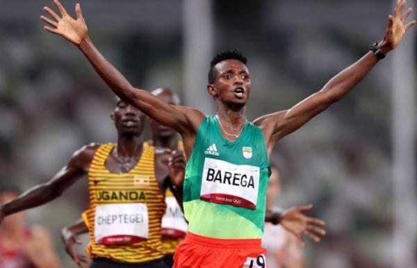 Ethiopie : JO Tokyo 2020 , l' éthiopien Selemon Barega sacré champion du 10.000 m