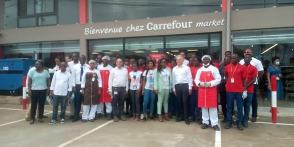 Côte d'Ivoire : Carrefour Market ouvre un supermarché de proximité à Cocody Las Palmas et offre plus de 4.600 produits dont la majorité sont des productions locales