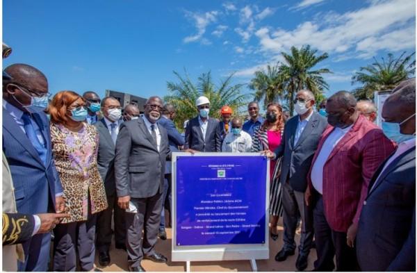 Côte d'Ivoire : San Pedro,  les travaux de la côtière enfin lancés et devraient être achevés dans 15 mois