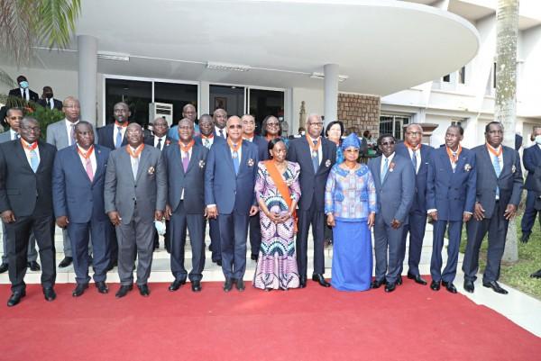 Côte d'Ivoire : 22 personnalités de l'Etat élevées dans l'Ordre national, dont Patrick Achi,...