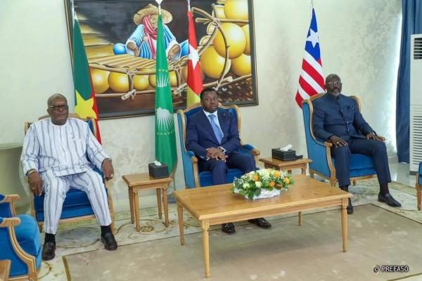 Burkina Faso : Le président Kaboré à Lomé pour un mini sommet avec la Turquie