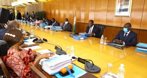 Côte d'Ivoire :  Communiqué du Conseil Des Ministres du Mercredi 20 octobre 2021