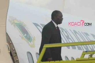 Alassane Ouattara de retour de Paris: «La paix est fragile»