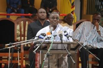 GHANA 2012 :  Atta Mills : « jÂ'entends des gens battre des tambours de guerre »