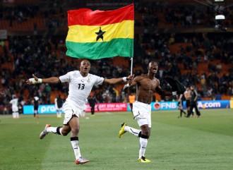 GHANA : André Ayew en compétition avec Yaya Toure et Gervino sur BBC