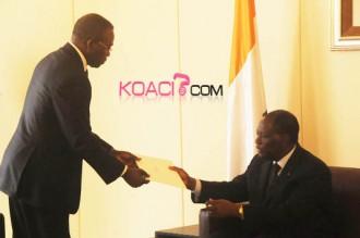 GABON - COTE D'IVOIRE: Ali Bongo demande le soutien d'Alassane Ouattara pour la candidature de Jean Ping à l'UA