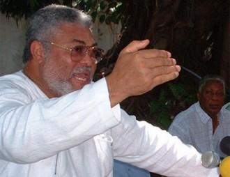 GHANA:  Rawlings sÂ'insurge contre Â'Â'lÂ'enlèvementÂ'Â' de Gbagbo vers la Haye