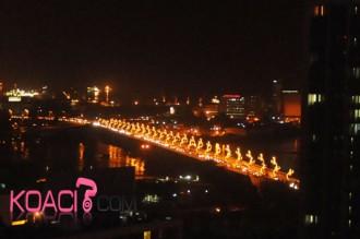 COTE D'IVOIRE: Fetes de fin d'année, bouchons jusqu'en fin de soirée!