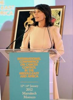 GABON: Sylvia Bongo à Marrakech pour le dépistage du cancer du col de lÂ'utérus