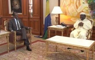 GABON: Audience du Président avec Michel Sidibé, Directeur exécutif de l'ONUSIDA