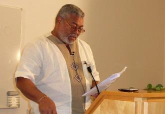 GHANA: Rawlings sÂ'attaque à nouveau au NDC et à son protégé Atta Mills