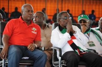 GHANA 2012:  Vacance du poste du candidat du NDC à la présidentielle, le parti se prononce ce jeudi