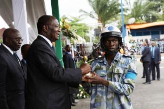 COTE D'IVOIRE : Baptêmes et prestations de serment de gendarmes