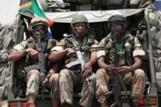 Centrafrique : Zuma vole au secours de Bozizé et lui envoie 200 soldats