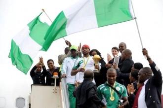 Football :  Retour du trophée continental au Nigeria après 19 ans dÂ'absence