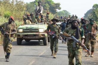 Centrafrique: La rébellion commence son retrait des villes occupées
