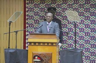 Ghana :  Les députés de lÂ'opposition NPP ont fuit le parlement devant John Mahama