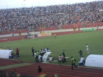 Football : Sans sanctions ni rancunes, un gardien ghanéen a quitté son poteau pour les toilettes