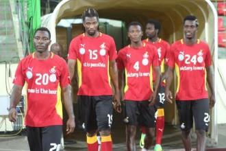 Football:  Match Ghana-Soudan: Les Black Stars sélectionnés débarquent à Accra