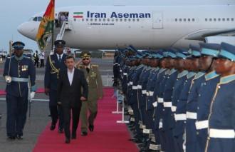 Ghana : Le Président iranien Ahmadinejad envoie un message à lÂ'Occident