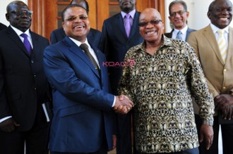 Centrafrique : Bangui et Pretoria formalisent leurs relations