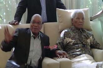 Afrique du Sud: Une vidéo de Mandela fait polémique