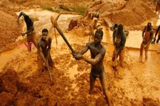 Ghana :Plus de 55 mineurs Africains arrêtés
