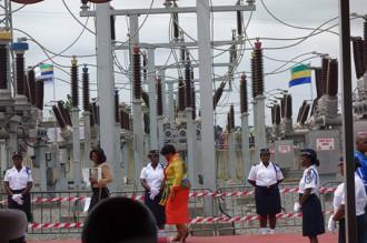 Gabon : Ali Bongo inaugure la centrale thermique au gaz naturel dÂ'Alenakiri