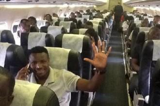 Football : Les joueurs zambiens atterrissent enfin au Ghana avec leur mésaventure