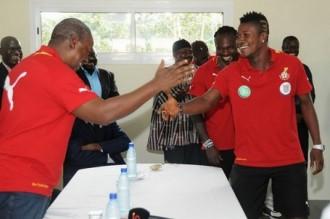 Mondial 2014 : Mahama rejoint les Black Stars au stade avec un bonus pour la victoire contre lÂ'Egypte