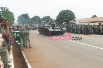 Guinée : Le 55ème Anniversaire de lÂ'Armée célébré au camp Alpha Yaya  Diallo