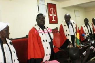 Guinée : La cour suprême confirme les résultats de la CENI