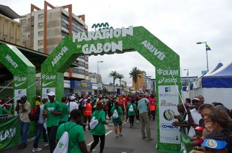 Gabon : 3 kenyans sur le podium du premier marathon du Gabon