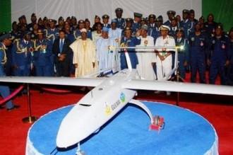 Nigeria : Sortie du premier drone construit par lÂ'Armée et des particuliers