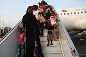 Centrafrique-Côte dÂ'Ivoire : Le deuxième contingent dÂ'Ivoiriens à quitté Bangui